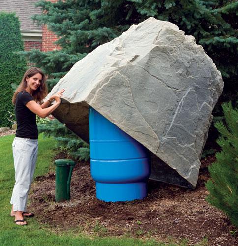 Dekorra for Landscape rock utility cover